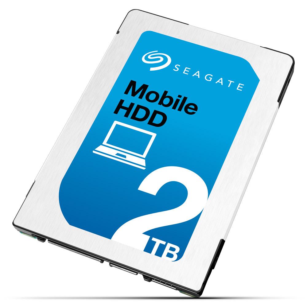 Seagate представляет жёсткий диск ёмкостью 2 Tбайт толщиной 7мм