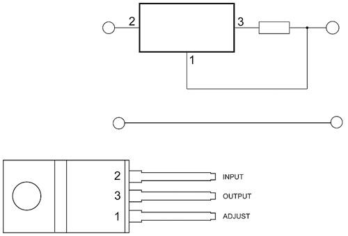 регулируемый стабилизатор тока на lm317.