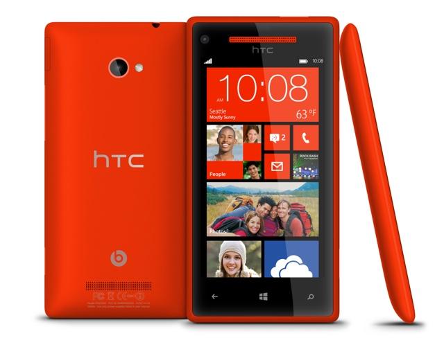 В России начинается продажа смартфонов WindowsPhone 8X и 8S от HTC